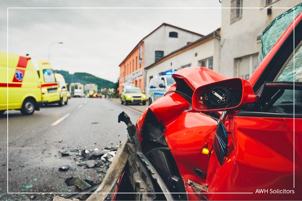 Successful accident claim after road traffic collision