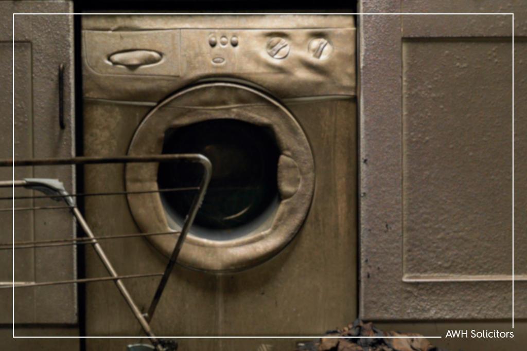 Compensation claim tumble dryer fire