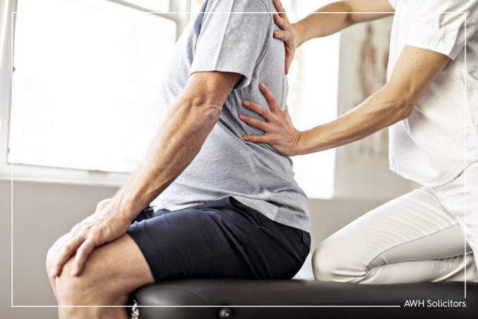 Back injury at work claim - compensation for back injury at work UK