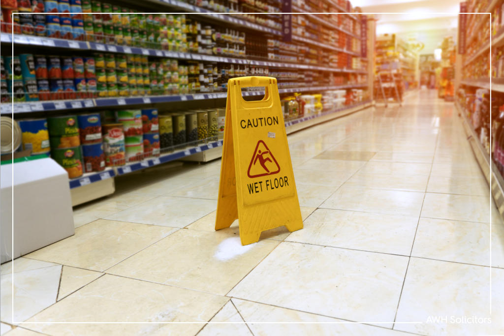 slip and fall compensation claim