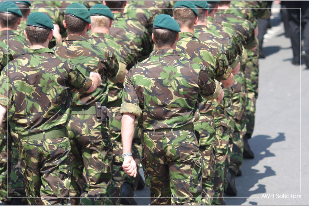 armed forces injury claim