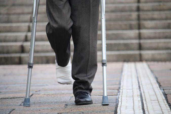 Crushed Foot Injury