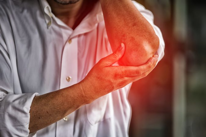 Tennis Elbow Caused by Work