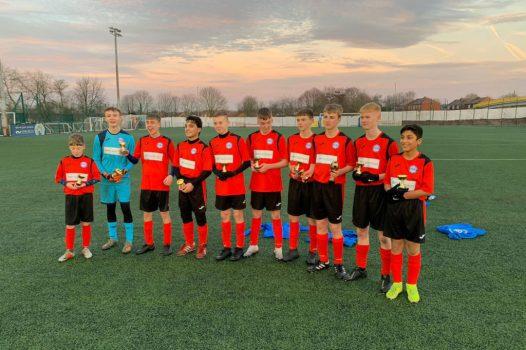AWH Sponsors Ramsbottom United Junior Football Club Manchester