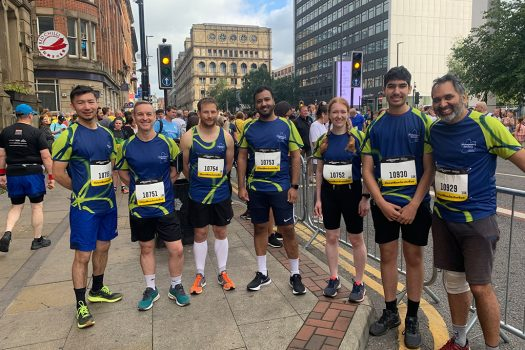 AWH Proud to Complete Great Manchester Run for Alzheimer's Society Manchester